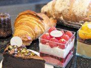 ケーキからパンまで!黒大理石×天然木の大人空間「パティスリー エモーション」