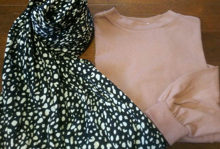 【しまむら】プチプラのあやさんコラボトップスとマキシ丈柄スカートがかわいい!