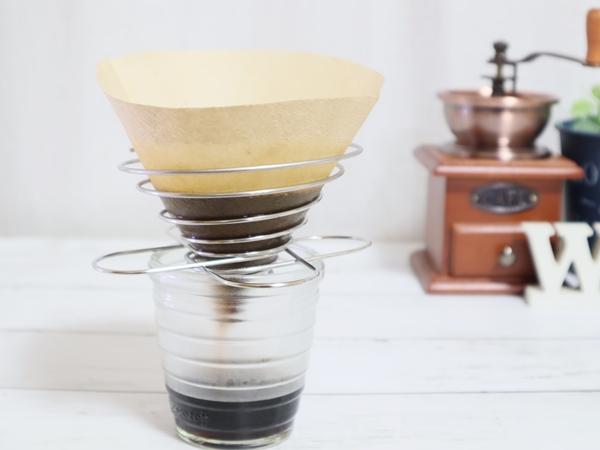 【セリア】たためるコーヒードリッパーでスリムにおいしいコーヒーを