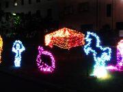 【宇都宮市】光のサーカス♪ 宇都宮共和大学有志によるイルミネーション