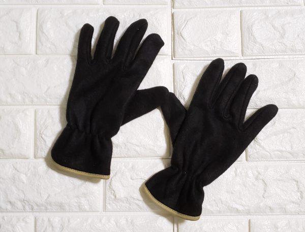 【100均】Can★Doのメンズのフリース手袋、高見えで暖か♪