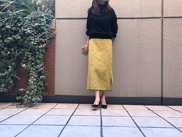 【GU】春まで使える190円スカート !