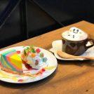 「ファニーズカフェ」のレインボーチーズケーキがかわいい!@昭和区御器所