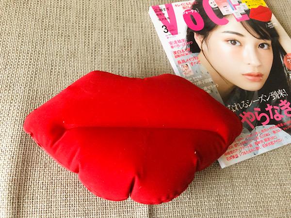 【雑誌付録】くびれる!寝るだけリップ枕で美ボディを!