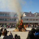 武蔵野市各地区の小学校で「どんど焼き」1/8(水)〜19(日)開催