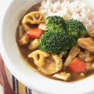 【冬のコロコロ便秘対策レシピ】冬野菜とチキンの糀カレー
