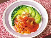 タラの野菜いっぱいチリソース