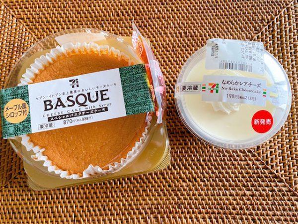 ケーキ セブン チーズ バスク
