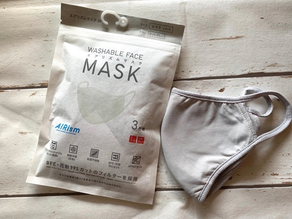 マスク エアリズム ユニクロ