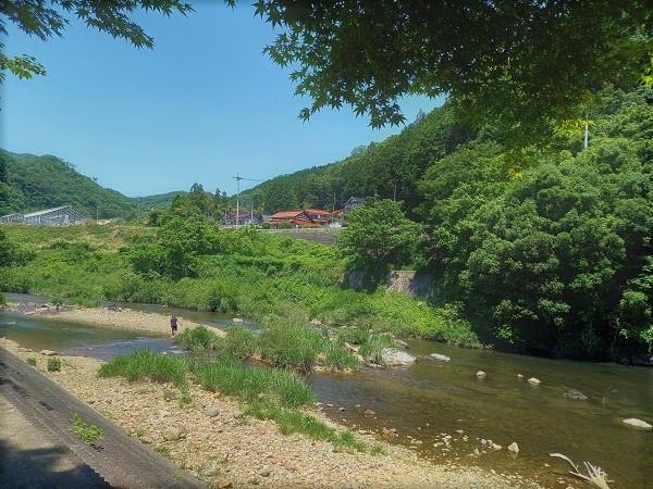 【三次市】遊具がある川遊びスポット『君田こども遊園地』